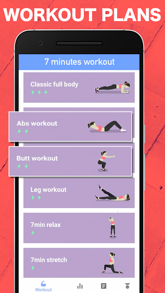 Anytime fitness - 7 minute workout