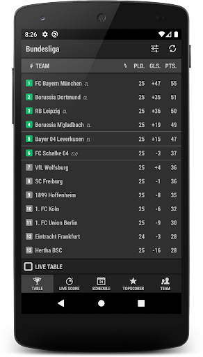 Football DE (The German 1st league)  screenshots 6