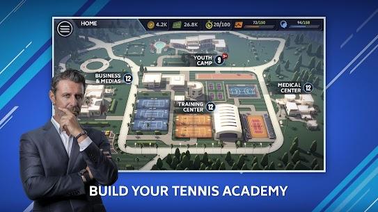Tennis Manager Mobile 2021 MOD Apk 1.29.5579 (Unlimited Money) 1