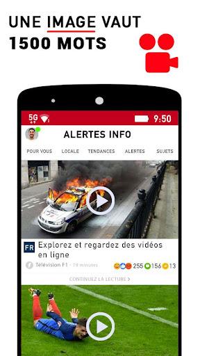 Alertes info: Actualitu00e9 locale et alerte d'urgence 10.7.0 Screenshots 4