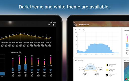 Weather & Widget - Weawow android2mod screenshots 8