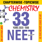Chemistry -NEET 33 Year Solved Past Papers Offline