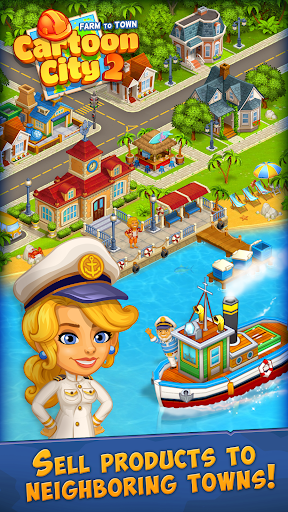 Cartoon City 2:Farm to Town.Build your home,house modavailable screenshots 12