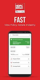 Free HDFC ERGO Insurance App 2