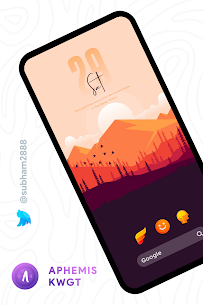 Aphemis KWGT Apk [PAID] for Android 4