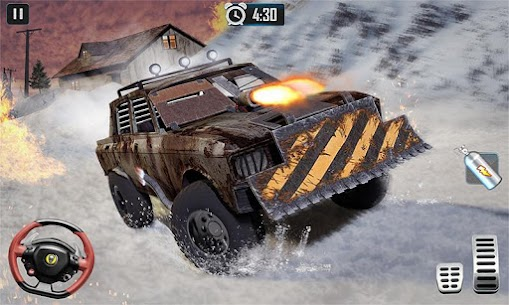 Furious Death Car Snow Racing: Armored Cars Battle Hack Online (Android iOS) 4