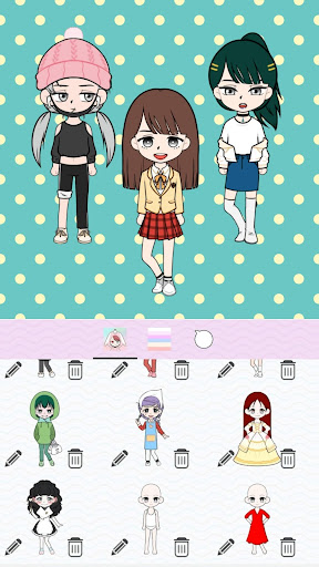 My Webtoon Character Girls - K-pop IDOL Maker 1.5.0 screenshots 7