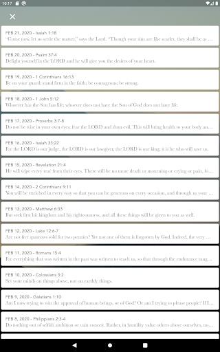 Daily Bible Verse Devotionals  screenshots 5