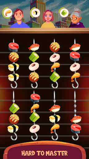 Cooking Sort - Free Ball Sort Puzzle Game  screenshots 5