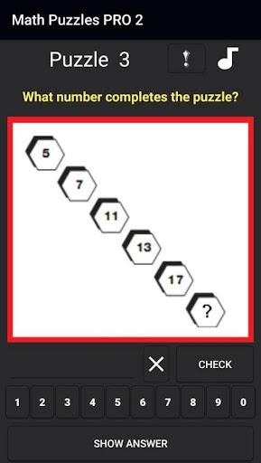 2021 new math puzzles screenshot 2