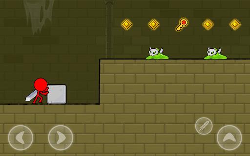 Red Stickman : Animation vs Stickman Fighting android2mod screenshots 10