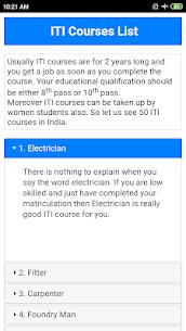 ITI Courses List 1