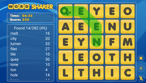 Word Shaker Free 4.1 screenshots 11