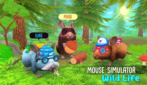 Mouse Simulator - Wild Life Sim APK MOD – Pièces de Monnaie Illimitées (Astuce) screenshots hack proof 1