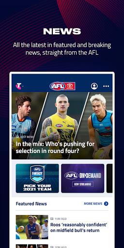 AFL Live Official App  screenshots 2