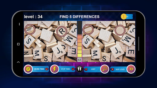 Spot 5 Differences 1000 levels 1.6.1 screenshots 22