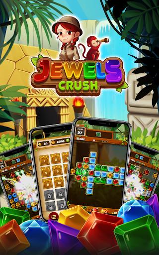 Jewels Crush 2021 : Match 3 Jungle Puzzle hack tool