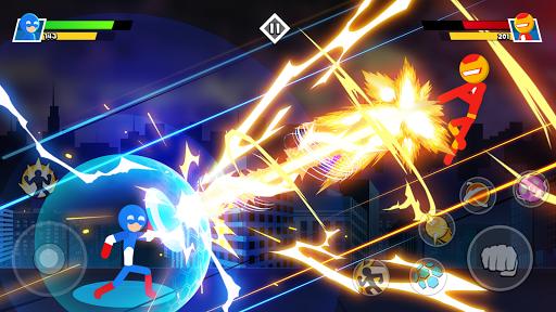 Stickman Combat - Superhero Fighter apktram screenshots 1