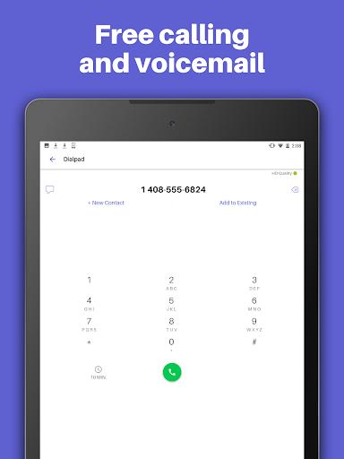 Text Free: WiFi Calling App ud83cudd93  Screenshots 8
