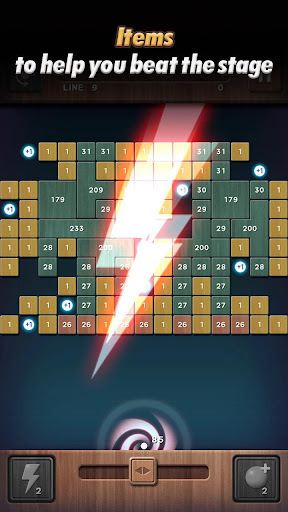 Swipe Brick Breaker: The Blast apkpoly screenshots 13