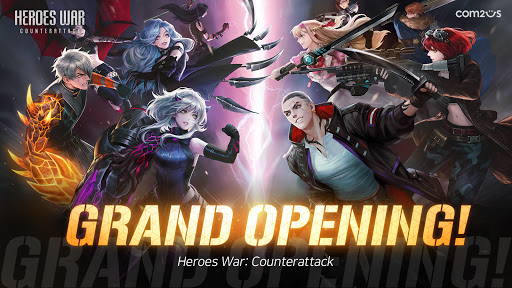 Heroes War: Counterattack apkpoly screenshots 1