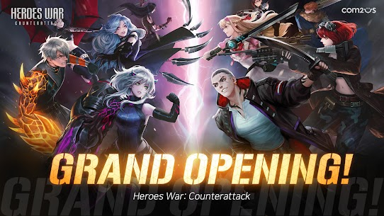 Heroes War: Counterattack MOD Apk 1.8.0 (Unlimited Money) 1
