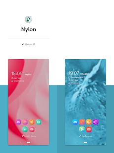Fluo for KLWP