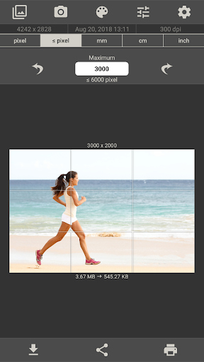 Image Size - Photo Resizer 6.2 Screenshots 7