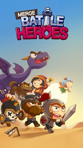 Télécharger Gratuit Merge Battle Heroes APK MOD (Astuce) screenshots 1