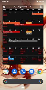 Calendar Widgets Premium Apk: Month Agenda calendar (Paid Features Unlocked) 3