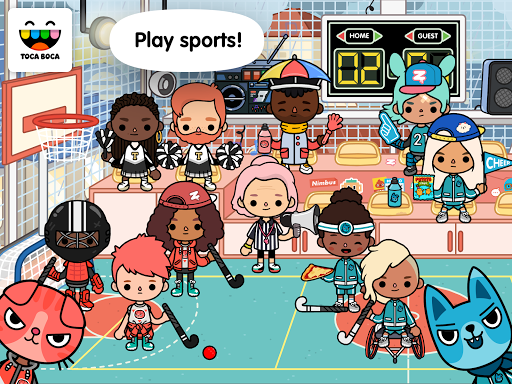Toca Life: After School android2mod screenshots 7
