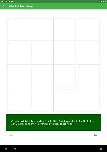 Killer Sudoku 2.1.7 screenshots 14