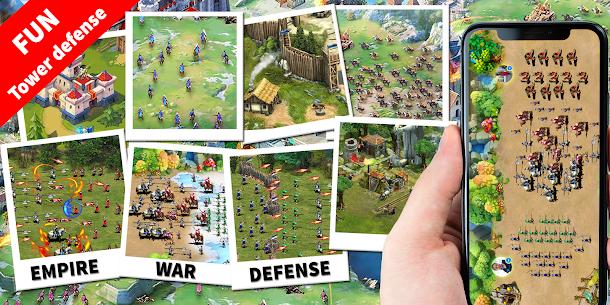 Empire Defense  Age of Stick War  Tower Defense Apk 5