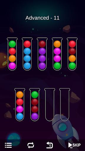Ball Sort - Bubble Sort Puzzle Game screenshots 5
