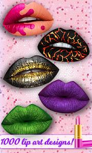 Lip Art 3D - Satisfying Lipstick | Tattoo Art Game 1.0