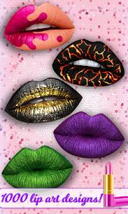 Lip Art 3D Satisfying Lipstick Tattoo Art Game APK + MOD (Money) 1