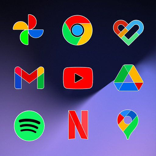 Pixly Limitless Fluo - Icon Pack