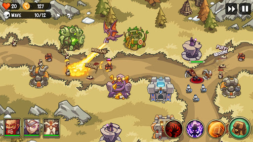 Empire Defender TD: Tower Defense The Fantasy War Varies with device screenshots 7