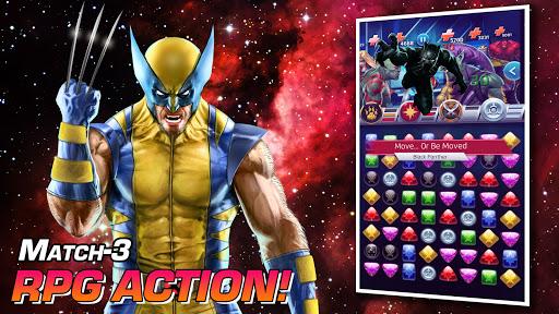 MARVEL Puzzle Quest: Join the Super Hero Battle! Apkfinish screenshots 15