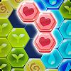 블록 헥사 퍼즐: 마이 플라워