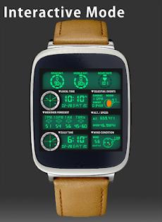 F05 WatchFace for Android Wearのおすすめ画像3