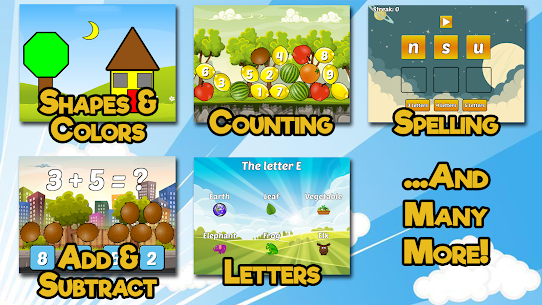 Preschool and Kindergarten Learning For Pc (Free Download On Windows7/8/8.1/10 And Mac) 2