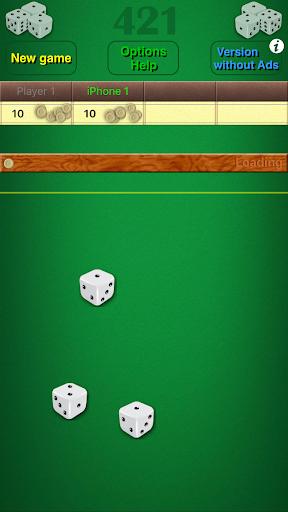 Dice Game 421 Free 1.8 screenshots 4