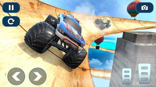 Mega Ramp Car Stunt Races - Stunt Car Games 2020 modavailable screenshots 4