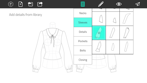 Fashion Design Flat Sketch 1.0 Screenshots 2
