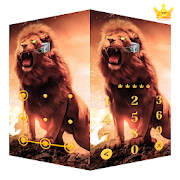 AppLock Live Theme Lion – Paid Theme