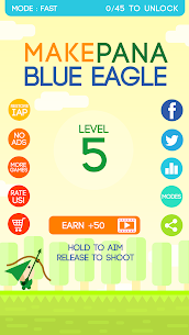 Make Pana Blue Eagle Game Hack Android and iOS 3