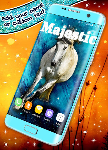 Horse Live Wallpaper 🐎 Majestic Animal Wallpapers  screenshots 1