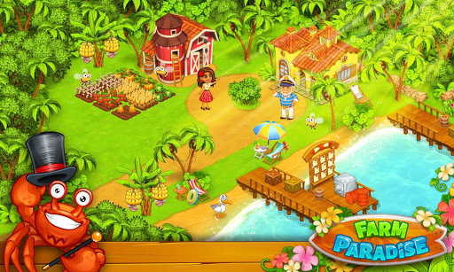 Farm Paradise - Fun farm trade game at lost island apktram screenshots 7