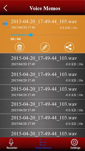 Voice recorder 1.38.463 Screenshots 6